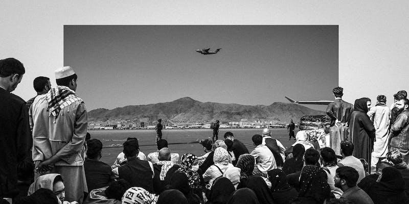 Afghans Try to Flee U.S.-Caused Crisis