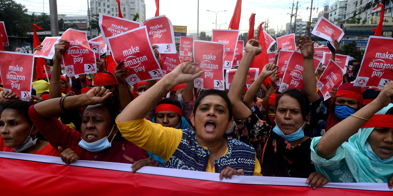 Amazon Workers Seek to Unite in Global Struggle